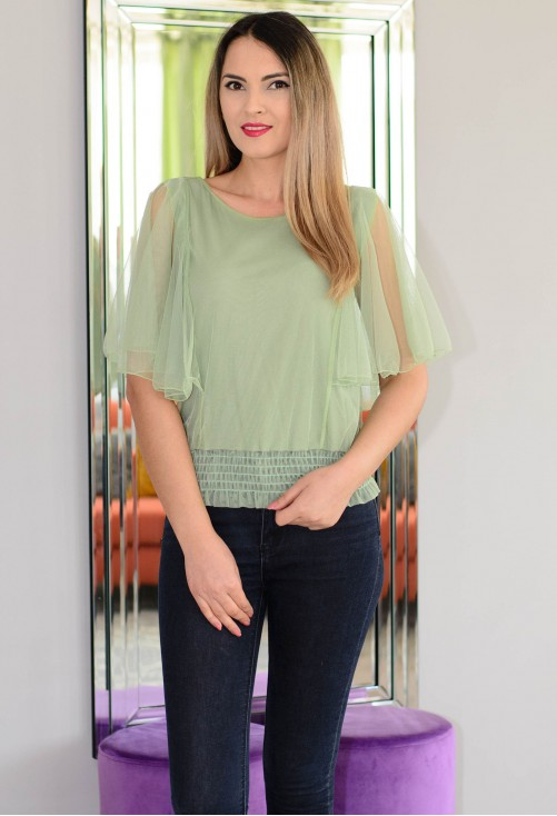 Bluza Festive Time Green