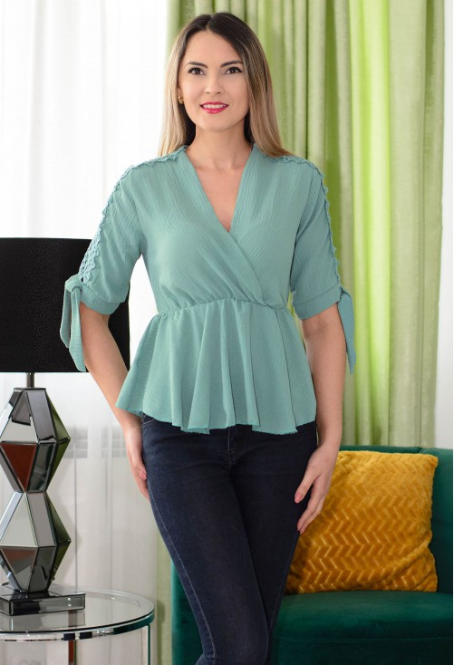 Bluza Jump Around Teal