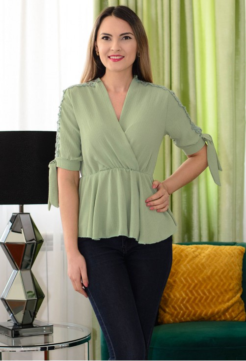 Bluza Jump Around Green