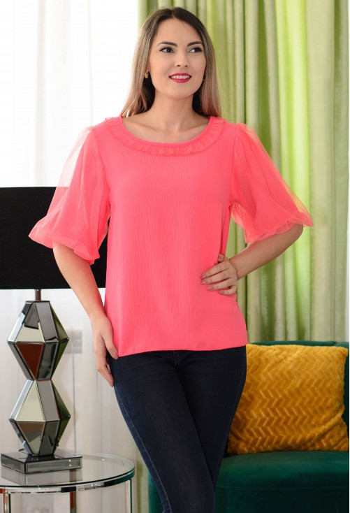 Bluza Neck Design Corai