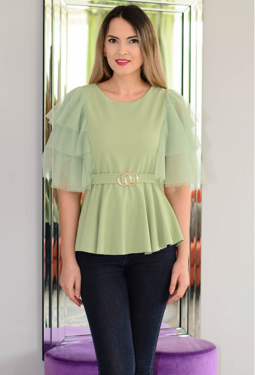 Bluza Gorgeous Sleeve Green