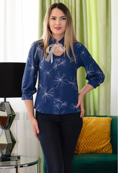 Bluza Star Sign DarkBlue