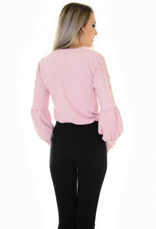 Bluza Memorable Sleeve Pink
