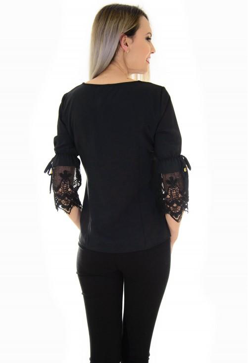 Bluza Lace Dream Black
