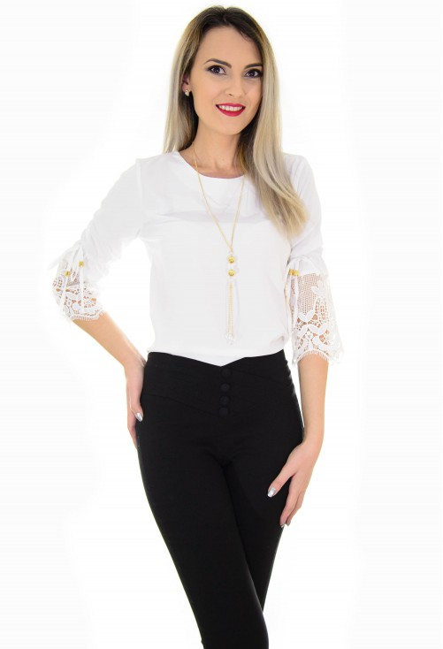 Bluza Lace Dream White