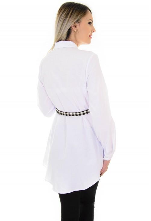 Camasa Dimensional Squares White