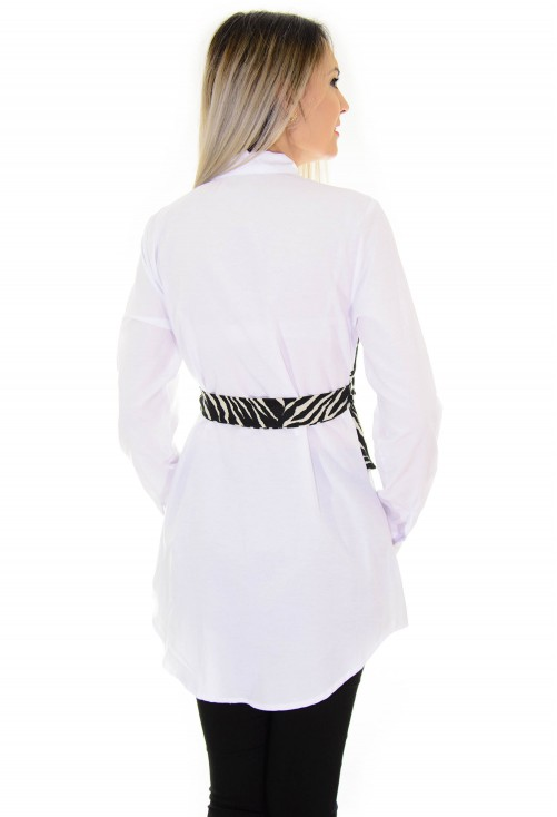 Camasa Dimensional Zebra White