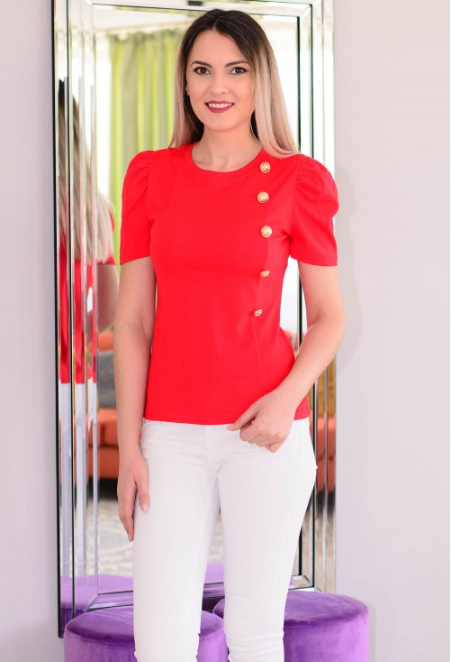 Tricou Golden Feel Red