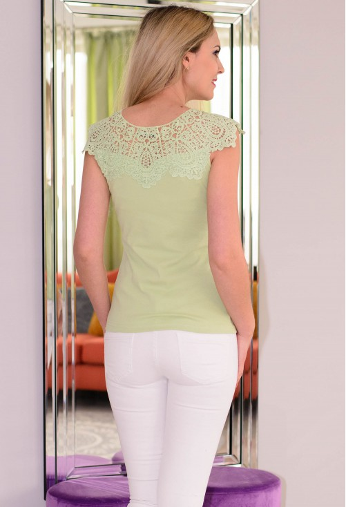 Tricou Special Lace Green