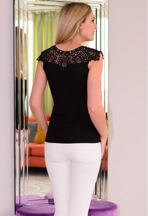 Tricou Special Lace Black