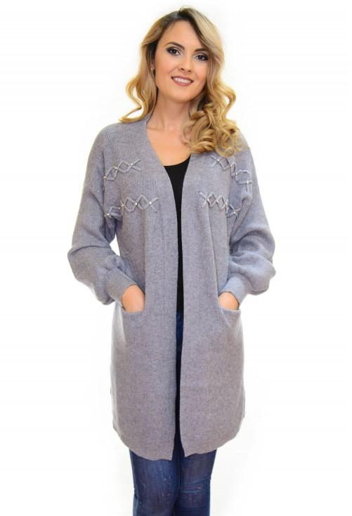 Cardigan Tempting Delivery Grey