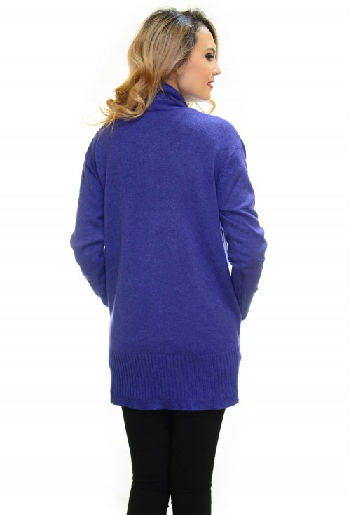 Cardigan Hanging Purple