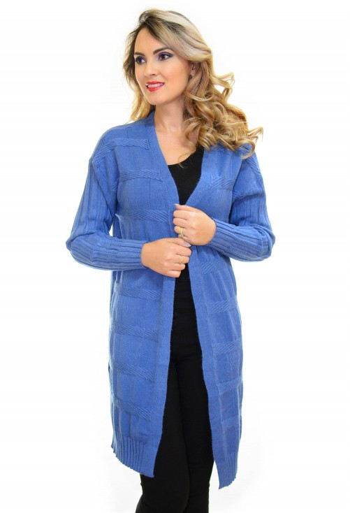 Cardigan Flash Light Blue