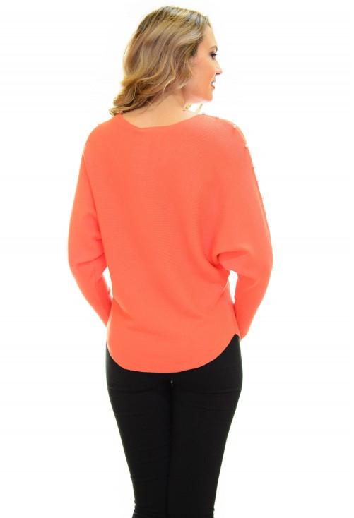 Pulover Smart Line Orange