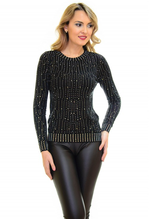Pulover Right Shape Black