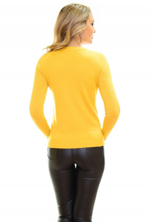 Pulover Right Shape Yellow