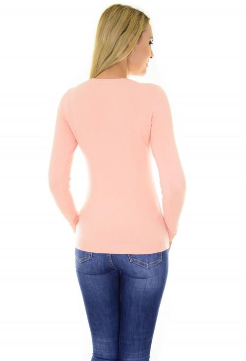 Pulover Sparkling Heart Pink