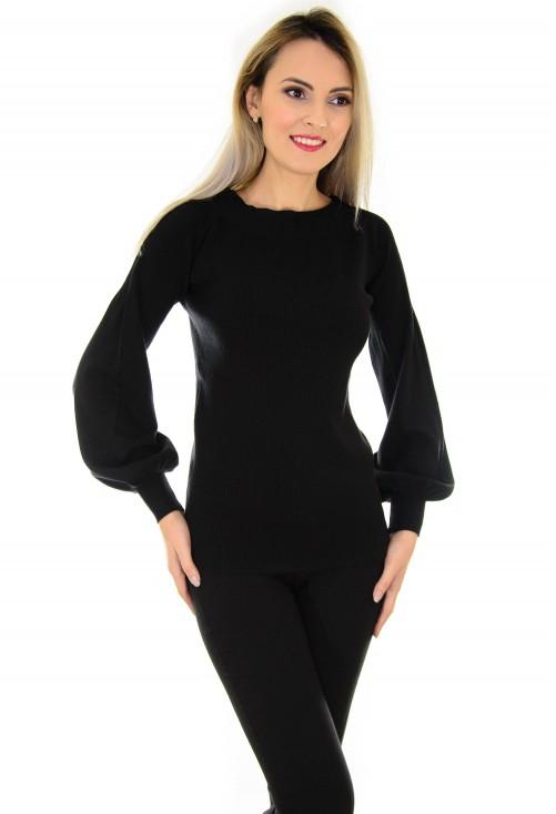 Pulover Harmony Sleeve Black