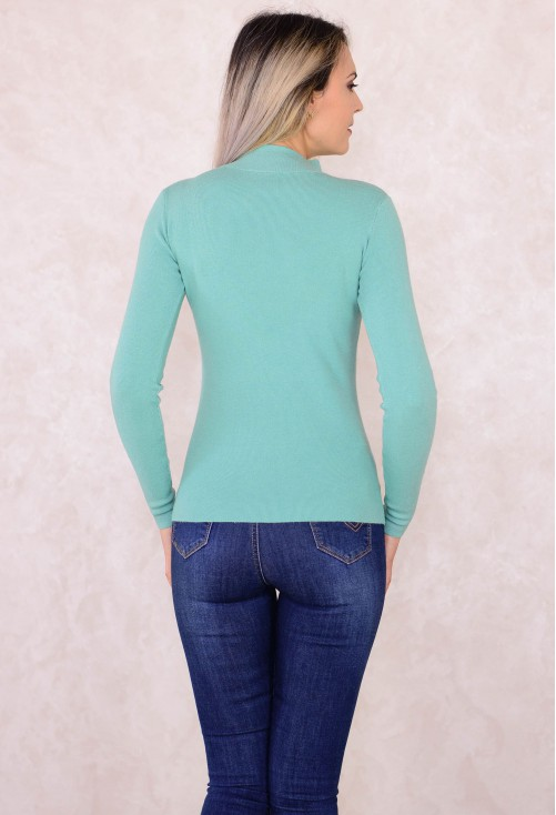 Pulover Middle Neck Mint