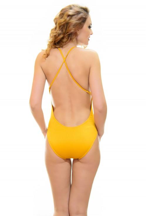 Costum De Baie Trend Edition Mustard