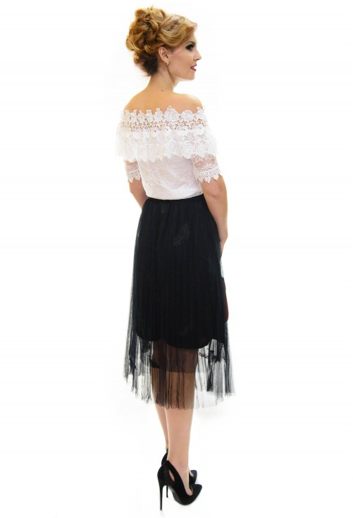Fusta Feather Part Black