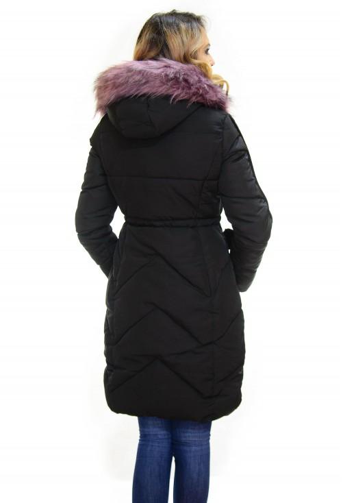 Geaca Thick Winter Black