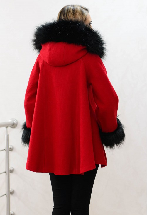Palton Giannini Loose Warmth Red