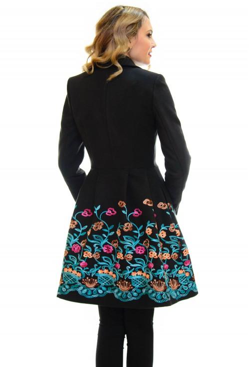 Palton Ella Collection All The Way Black