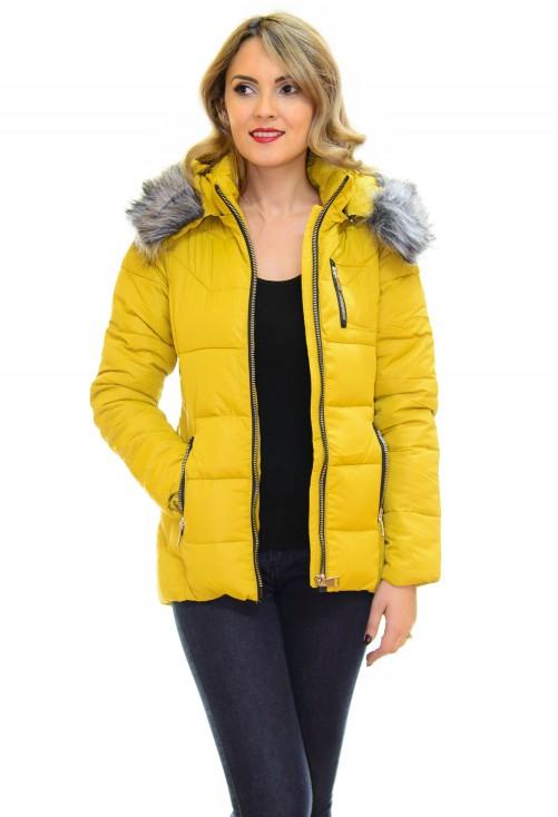 Geaca Trend Guest Yellow