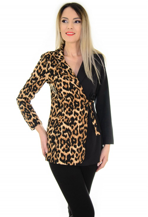 Sacou Lure Shot Animal Print