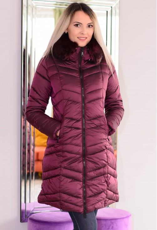 Geaca Perfect Intuition Plum