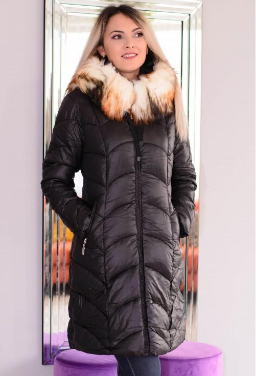 Geaca Funny Fur Black