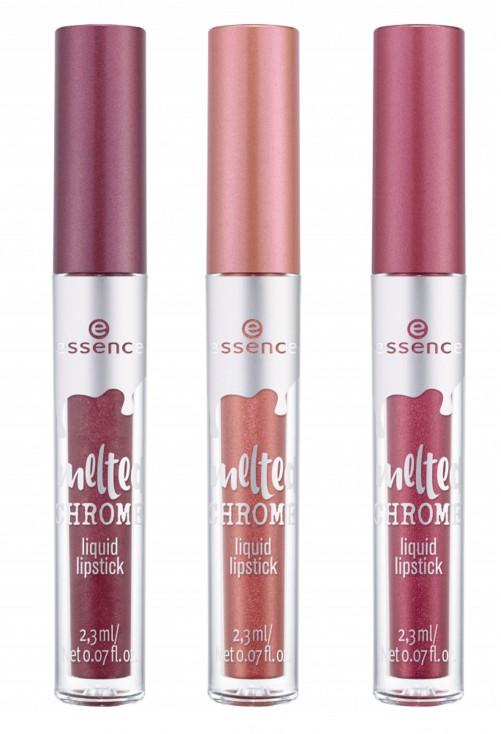 Ruj Lichid Essence Melted Chrome Liquid Lipstick