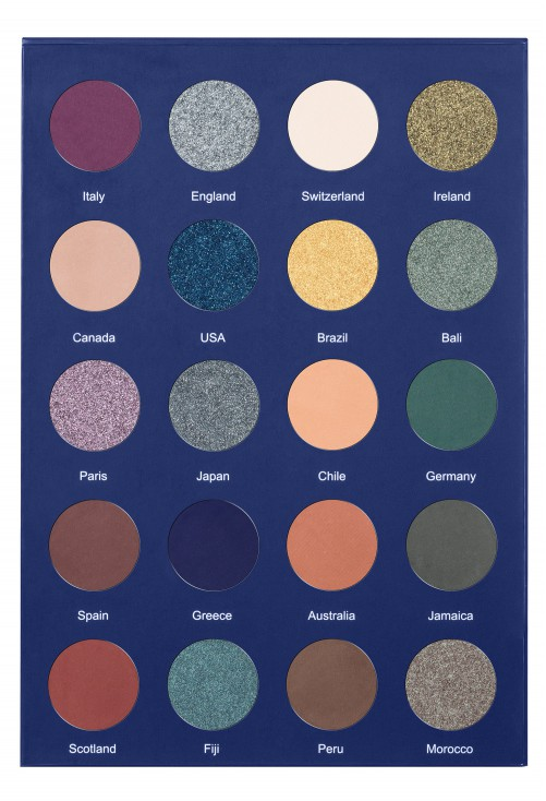 Paleta Farduri Lurella Cosmetics Adventurous Palette
