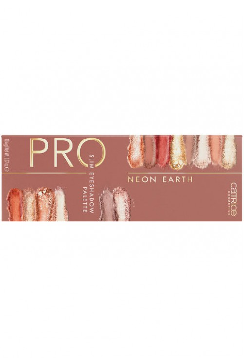 Paleta Farduri Catrice Pro Neon Earth Slim Eyeshadow Palette