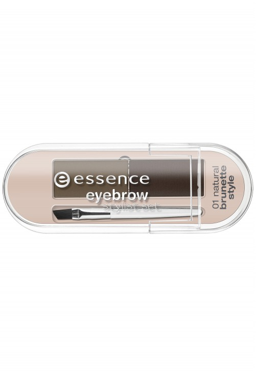 Kit De Sprancene Essence Eyebrow Stylist Set 01 Brunette