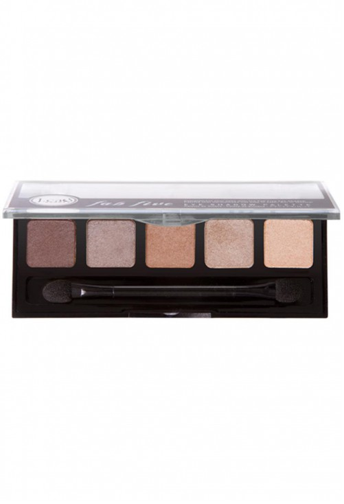 Paleta Farduri J.Cat Beauty Fab Five Eye Shadow Palette Mighty Hazel
