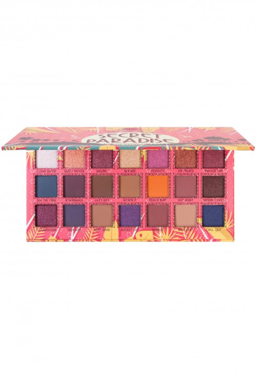 Paleta Farduri J.Cat Beauty Take Me Away - Secret Paradise