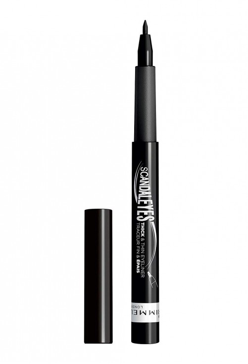 Tus Lichid Rimmel London Scandaleyes Thick And Thin Eyeliner