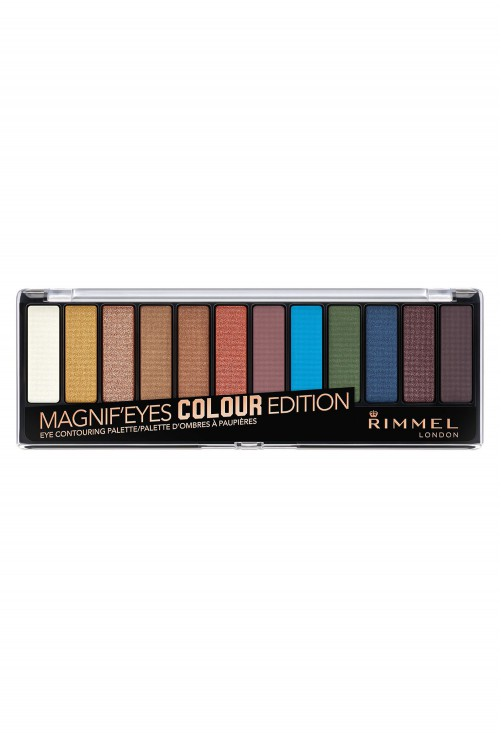Paleta Farduri Rimmel London Magnif'eyes Colour Edition
