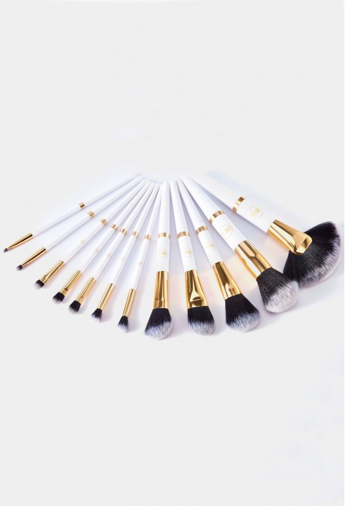 Set Pensule Lurella Cosmetics Gold Rush 12 Pieces