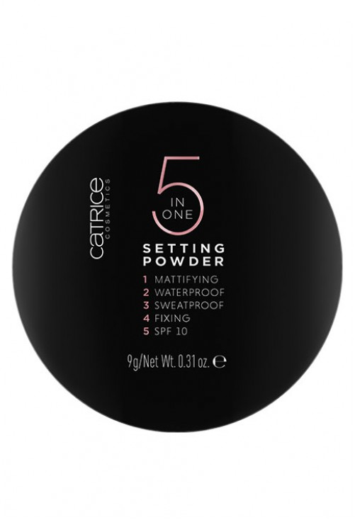 Pudra Compacta Catrice 5 In 1 Setting Powder