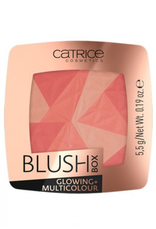 Fard De Obraz Catrice Blush Box Glowing + Multicolour 010