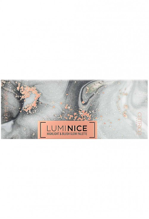 Paleta Iluminatoare Catrice Luminice Highlight & Blush Glow 010