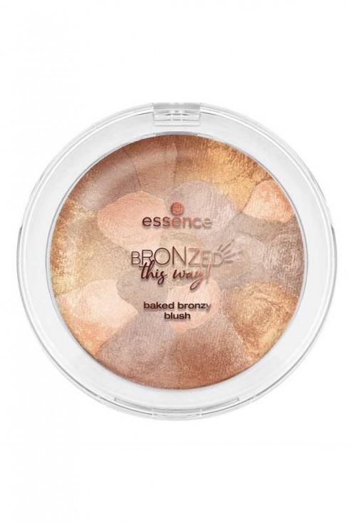 Fard De Obraz Essence Bronzed This Way Baked Bronzy Blush