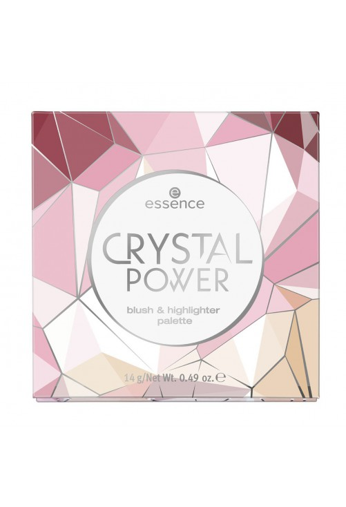 Paleta Ten Essence Crystal Power Blush & Highlighter Palette