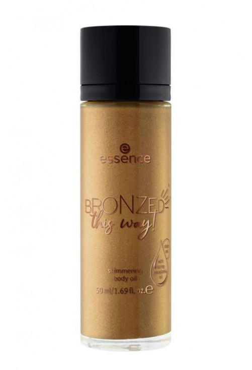 Ulei Stralucitor Essence Bronzed This Way Shimmering Body Oil