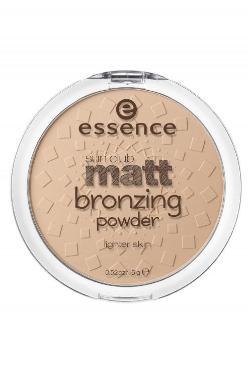 Pudra Bronzanta Essence Sun Club Matt Lighter Skin