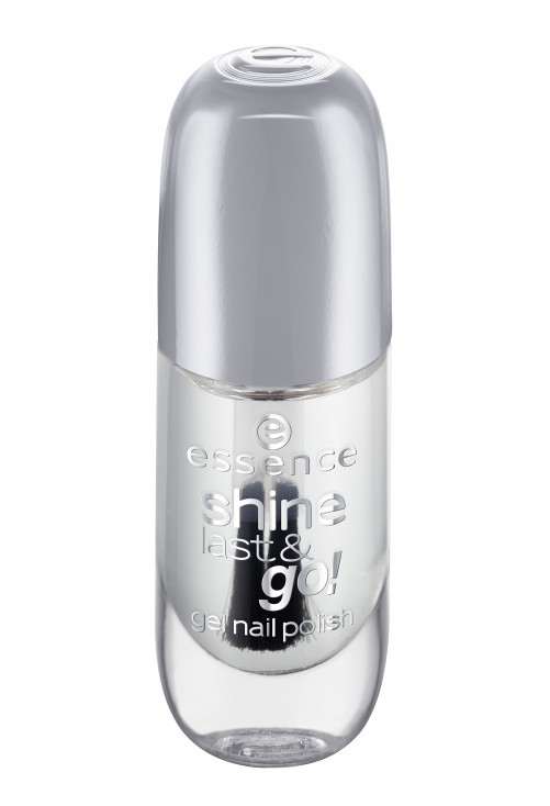 Lac De Unghii Essence Shine Last & Go Clear