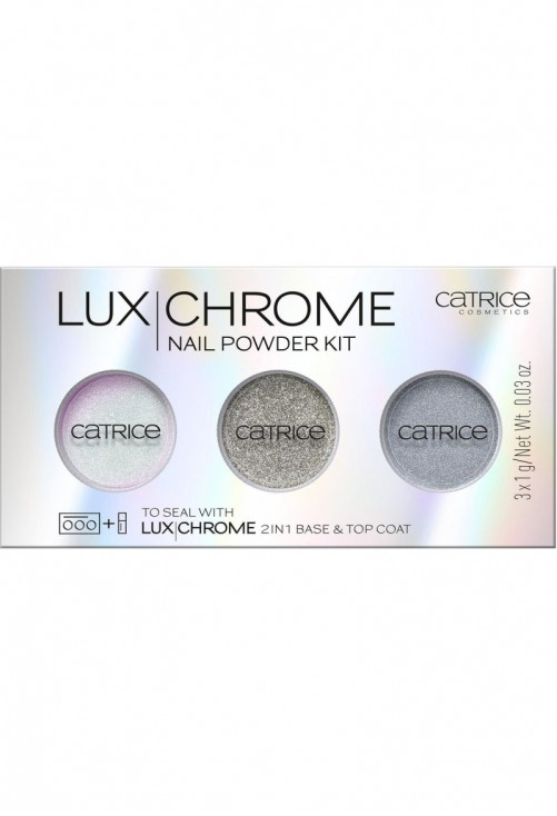 Kit de Unghii Catrice Lux Chrome Nail Powder Kit